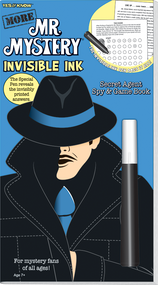 "Invisible Ink: Yes & Know® Mr. Mystery ""More!"""