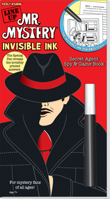 "Invisible Ink: Yes & Know® Mr. Mystery ""Line Up!"""