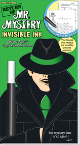 "Invisible Ink: Yes & Know® Mr. Mystery ""Return Of"""