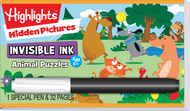 Invisible Ink: Highlights™ - Hidden Pictures™ Animals