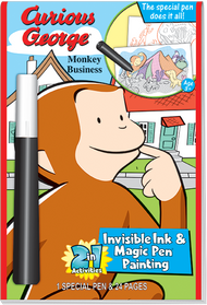 "Invisible Ink & Magic Pen Painting: Curious George™ ""Monkey Business"""