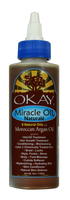 Miracle Oil  All Natural for Hair & Skin-Unique Blend Of 9 Natural Oils -For Optimal Hair Growth-For Hair & Skin Conditioning & Moisturizing -For Body & Foot Massage -Silicone, Paraben Free For All Hair & Skin Types. Made in USA  4oz / 117ml