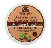 Black Jamaican Castor Oil Hair Masque- Penetrates To Reinforce Roots & Thin Broken Hair-Prevents Damage For Maximum Growth -Moisturizes & Regrows Strong Hair - Sulfate, Silicone, Paraben Free For All Hair Types and Textures - Made in USA2oz / 59ml