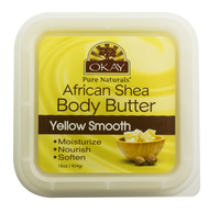 Shea Butter Yellow Smooth Deep Moisturizing 16 oz