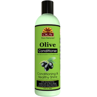 OKAY Olive Conditioning and Healthy Shine Conditioner– Helps Nourish, Condition, And Hydrate Hair - Sulfate, Silicone, Paraben Free For All Hair Types and Textures  -  Made in USA 12oz /355ml
