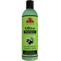 OKAY Olive Conditioning and Healthy Shine Shampoo– Helps Nourish, Condition, And Hydrate Hair - Sulfate, Silicone, Paraben Free For All Hair Types and Textures  -  Made in USA 12oz 355ml