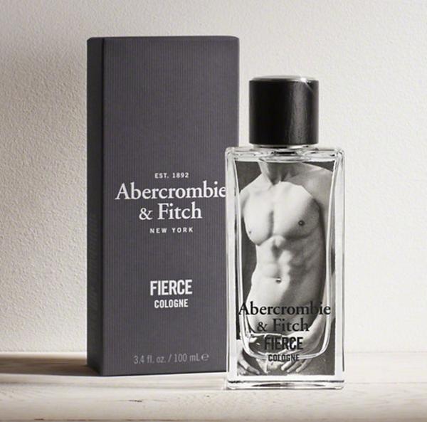 Abercrombie & Fitch Fierce Eau De Men's Cologne Spray - 3.4 fl oz Spray