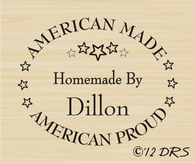 American Made Custom Hand Stamped by