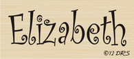 Curlz Custom Name Stamp