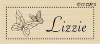 Butterfly Box Custom Name Stamp