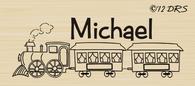 Train Custom Name Stamp - 64009
