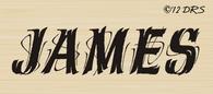 Scribble Custom Name Stamp - 64011