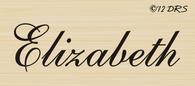 Script Custom Name Stamp - 64012