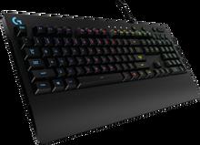 Logitech G213 Prodigy RGB Gaming Keyboard, 16.8 Million Lighting Colors Mech-Dome Backlit Keys Dedicated Media Controls Spill-Resistant Durable Design