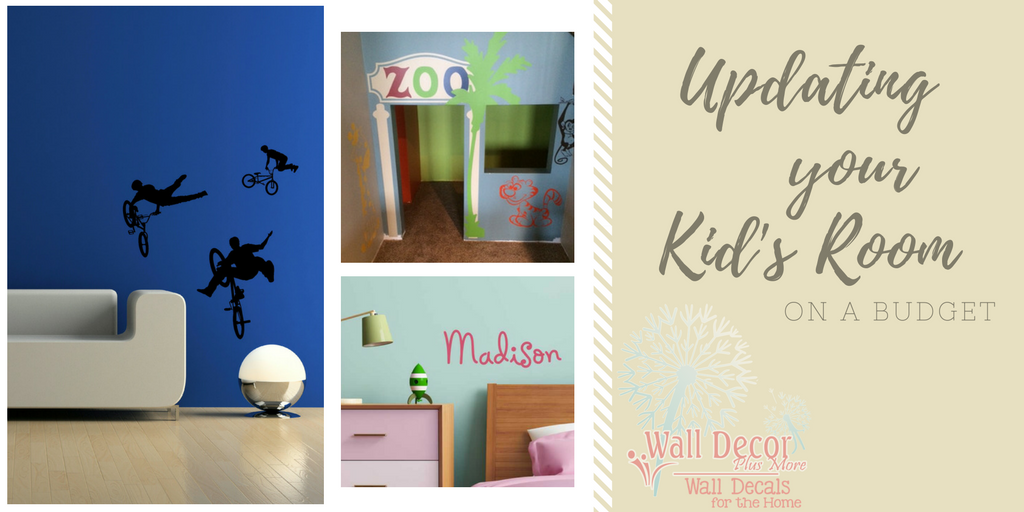 7 Inspiring Kid Room Color Options For Your Little Ones: Updating Your Kid's Room On A Budget