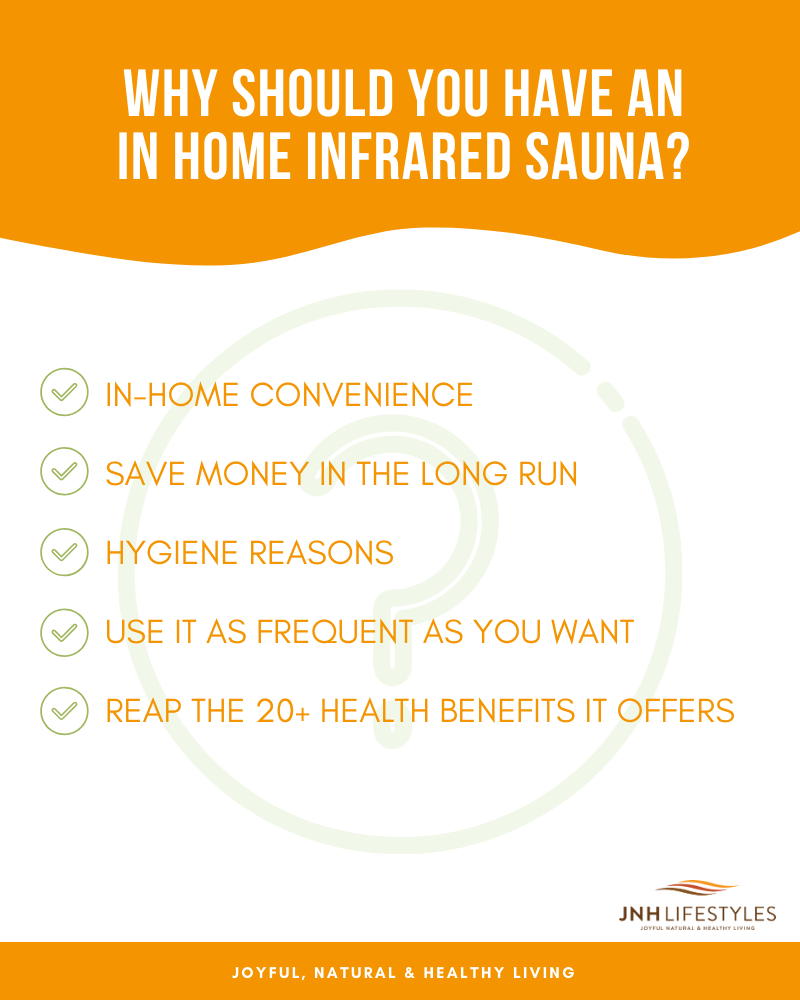 Why Should You Have an In-Home Infrared Sauna?