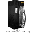 "Gorilla Grow Tent 3'x3'x6'11"" (12"" Extension Included)"