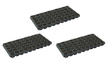 Speedy Root 50 Cell Plant Starter Tray w/ Media (3 Pack)