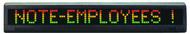 "Alpha 215C - 2.1"" Tri-Color Characters, 29""H x 4.5""H"