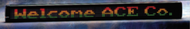 """Alpha 320C - 3.1"""" Tri-Color Characters, 57""""L x 5.5""""H"""