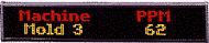 "ALPHA N124120C - NEMA 12, 1 Line 4"" or 2 Lines 2.1"" Tri-Color Characters, 40""L x 8""H"