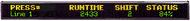 "ALPHA N124240C - NEMA 12, 1 Line 4"" or 2 Lines 2.1"" Tri-Color Characters, 76""L x 8""H"