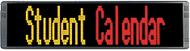 """Alpha 9160C - 1-5 Lines, 1.5"""" - 9.6"""" Tri-Color Characters; 52""""L x 12""""H"""