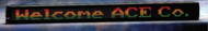 "Refurbished Alpha 320C - 3.1"" Tri-Color Characters, 57""L x 5.5""H"