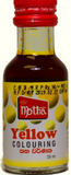 Motha Yellow Food Colouring 28ml
