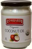 Lombardi Organic Coconut Oil 16 fl Oz