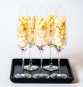 1 bag included - DIY HotPoppin Gourmet Popcorn Bar - REFILLS - 25 CUPS OF POPCORN (35 SERVINGS)