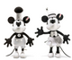 Steamboat Willie- Mickey Mouse 90th Birthday Limited Edition EAN 354458 sold separately