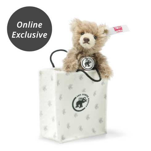Teddy Bear in 140th Anniversary Felt Bag - Online Exclusive Limited Edition Edition EAN 683459