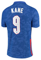 England 2020-21 Away Football Shirt/Jersey With Free Name & Number