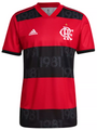 New Flamengo 2021-22 Home Football Shirt/Jersey With Free Name & Number