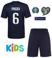Kids France 2020-21 Home Football Kit With Free Name & Number