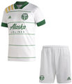 Kids Portland Timbers  2020-21 Secondary Football Kit With Free Name & Number