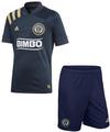 Kids Philadelphia Union 2020-21 Navy Football Kit With Free Name & Number