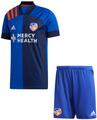 Kids FC Cincinnati  2020-21 Blue Football Kit With Free Name & Number