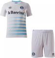 Kids Grêmio 2021-22 Away Football Kit Soccer Kit With Free Name&Number