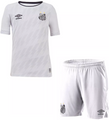 Kids Santos FC 2021-22 Home Football Kit With Free Name & Number
