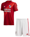 Kids River Plate 2020-21 Away Football Kit With Free Name & Number