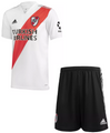 Kids River Plate 2020-21 Home Football Kit With Free Name & Number