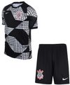 Kids Corinthians 2021-22 Fourth Soccer Football Kit With Free Name & Number