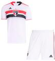Kids São Paulo FC 2021-22 Home Soccer/ Football Kit With Free Name & Number