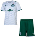Kids SE Palmeiras 2021-22 Away Soccer/Football Kit With Free Name & Number