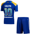Kids Boca Juniors 2021-22 Third Football Soccer Kit With Free Name & Number