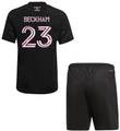 Kids Inter Miami CF 2021-22 Black Football/Soccer Kit With Free Name & Number