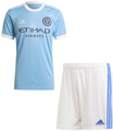 Kids New York City FC 2021-22 Primary Soccer/Football Kit With Free Name & Number