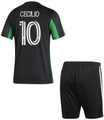 Kids Austin FC 2021-22 Primary Football/Soccer Kit With Free Name & Number